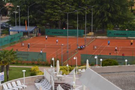 Tennisplätze beim Hotel Laguna Park