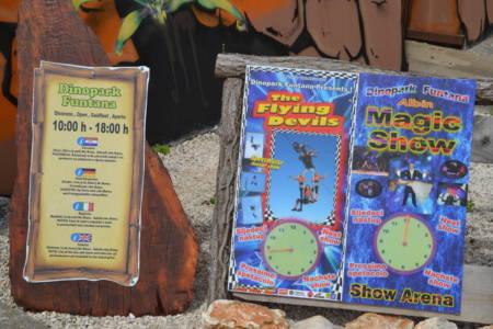 Öffnungszeiten Dinopark Funtana