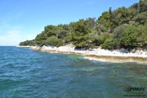 Porec Strand Blaue Lagune