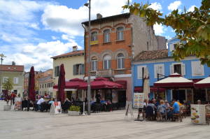 Stadt Porec Istrien