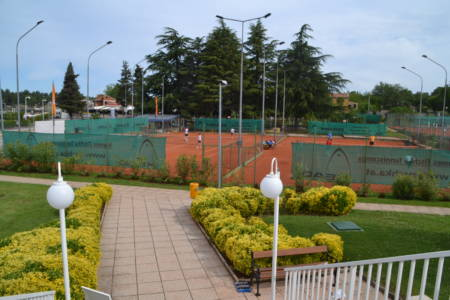 Tennissurlaub in Porec