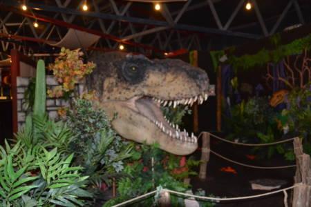Restaurant im Dinopark