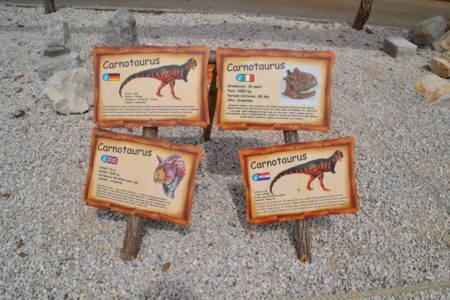 Dinosauriapark in Porec