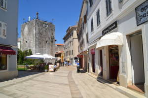 Shopping in Porec
