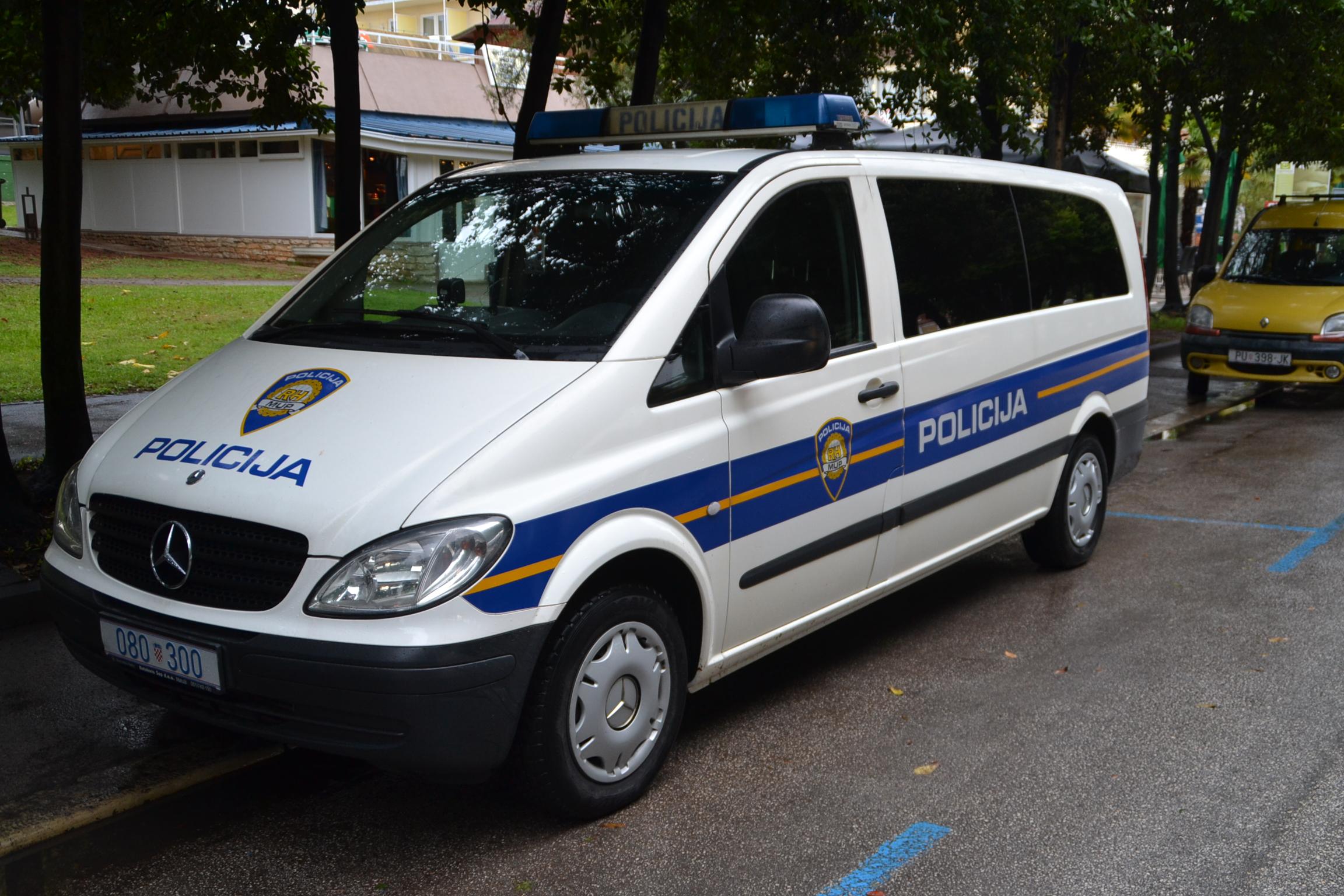 Kroatische Polizei